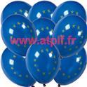 Sac de 100 ballons Europe, CEE , Ø 30cm