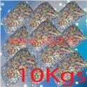Carton de 10Kgs de Confettis multicolore