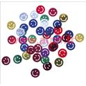 "Confetti de Table ""Smiley"" multicolore 1,5cm (sachet de 10Grs)"