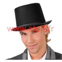 Chapeau Haut de Forme Noir 1er prix