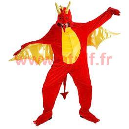 Deguisement de Dragon rouge, BD, Dessin Animé