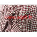 Tissu Vichy Rouge  1,40m  (le mètre)