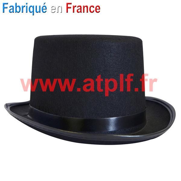 chapeau conscrit haut de forme noir adulte pour conscrits. Black Bedroom Furniture Sets. Home Design Ideas