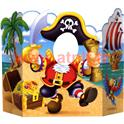 DECOR PASSE TETE PIRATE POUR PHOTO 93 CM X 63 CM