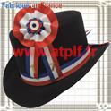 Set Conscrit Centenaire  (chapeau Gibus + Cocarde + année)