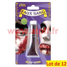 LOT A PRIX PRO: 12 Sang en tube 28 ml
