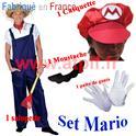 Set de Déguisement Mario Kart 4 pièces