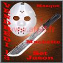 Set Jason Masque + Machette